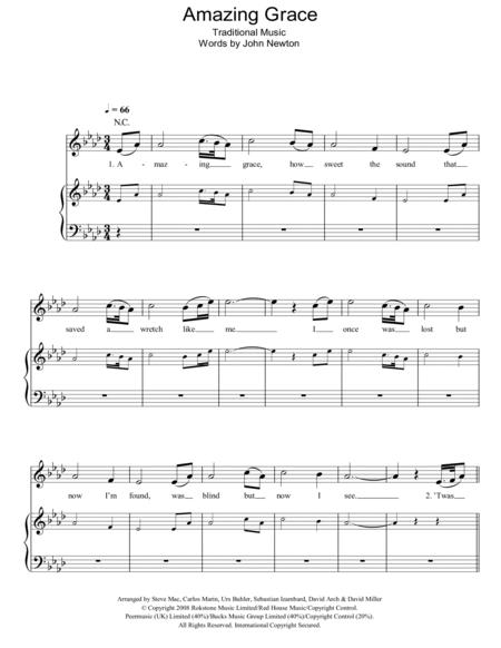 Download Digital Sheet Music of Greg Maroney for Piano, Vocal and Guitar