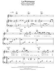 Free la promessa sheet music - Il divo la promessa ...