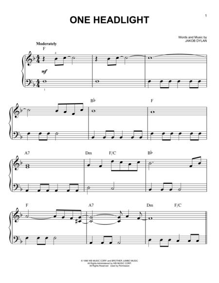 The Wallflowers sheet music to download and print - World center of ...