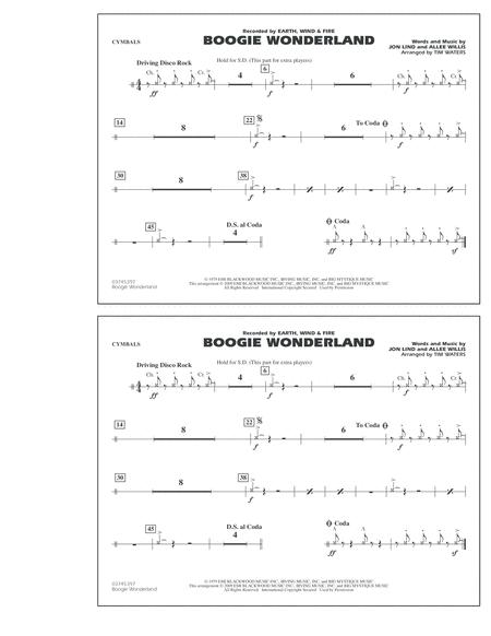 Download Digital Sheet Music of earth, wind and fire for