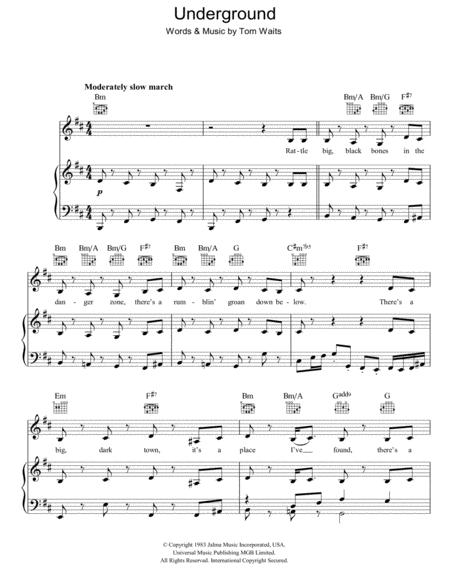 digital underground sheet music to download and print world center Guitar Chord Progressions for piano voice and guitar chords only folk pop rock 3 pages published by hal leonard digital sheet music