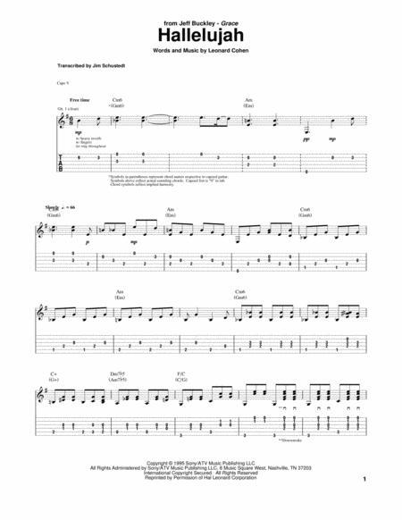 Dorable Jeff Buckley Hallelujah Piano Chords Ideas Basic Guitar