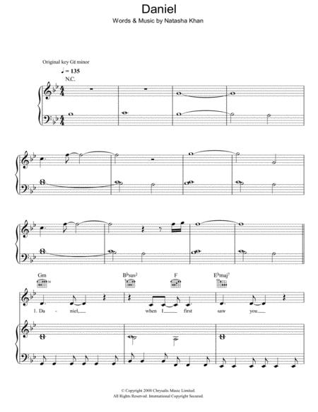Bat For Lashes Sheet Music To Download And Print World Center Of