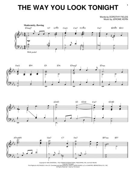 Download Digital Sheet Music of Jerome Kern Piano, Voice for Piano ...