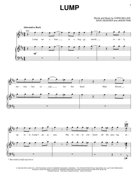 Presidents Of The United States Of America Sheet Music To Download