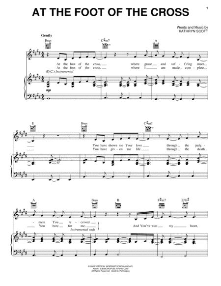 Kathryn Scott Sheet Music To Download And Print World Center Of