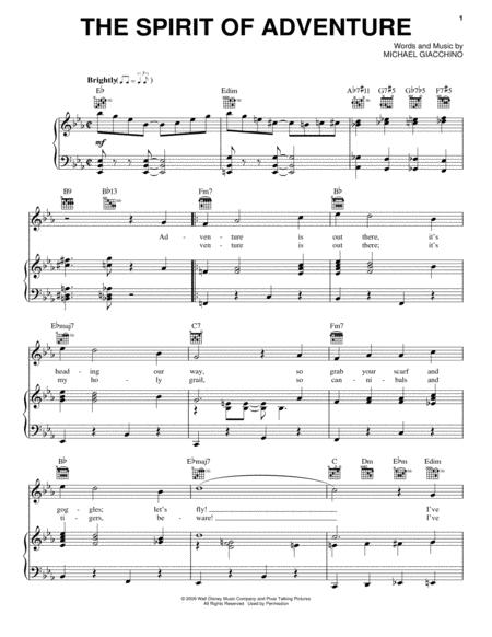 Download Digital Sheet Music Of Michael Giacchino For Piano Vocal