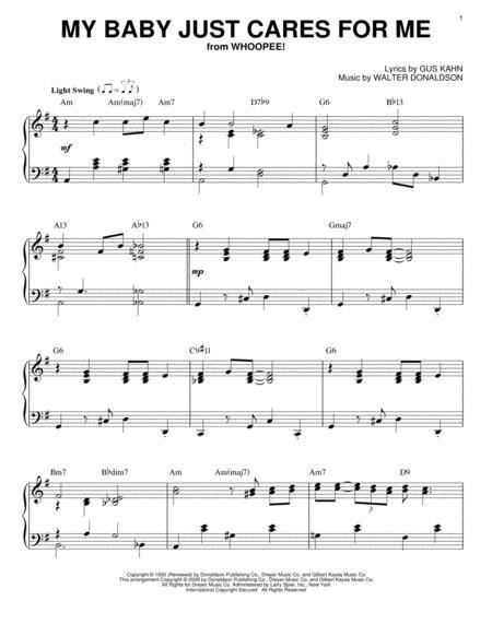 Nina Simone sheet music to download and print - World center