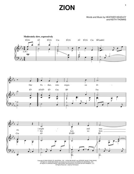 Heather-Headley sheet music to download and print - World