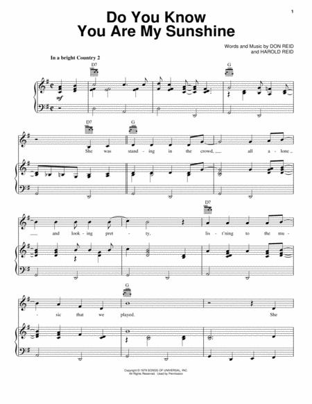 Statler Brothers sheet music to download and print - World center of ...