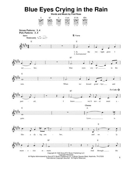 Elvis Presley and Willie Nelson sheet music to download and print ...