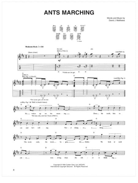 Download Digital Sheet Music of Ants\' march for Guitar notes and ...