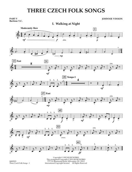 Download Digital Sheet Music of Folk Song for Saxhorn or