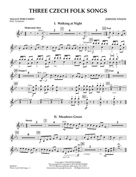 Download Digital Sheet Music of folk song for Percussion