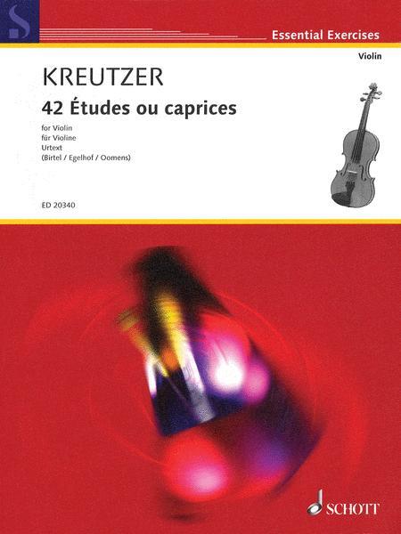42 Études ou caprices