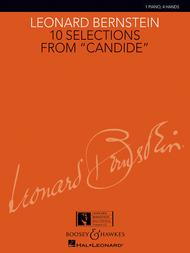 Leonard Bernstein  Sheet Music 10 Selections from Candide Song Lyrics Guitar Tabs Piano Music Notes Songbook