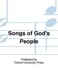 Songs of God's People sheet music
