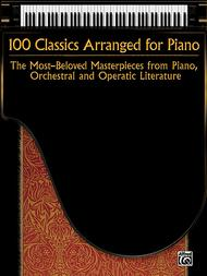 Various  Sheet Music 100 Classics Arranged for Piano Song Lyrics Guitar Tabs Piano Music Notes Songbook