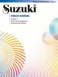Suzuki Violin School, Volume 5: Violin Sheet Music