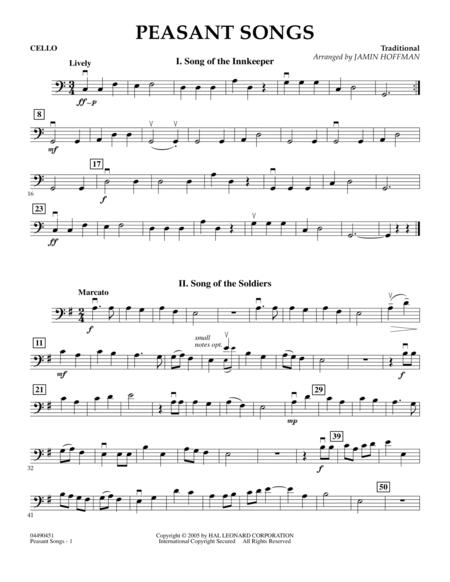 Peasant Song Sheet Music To Download And Print World Center Of