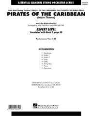 Pirates Of The Caribbean (Main Theme) - Full Score
