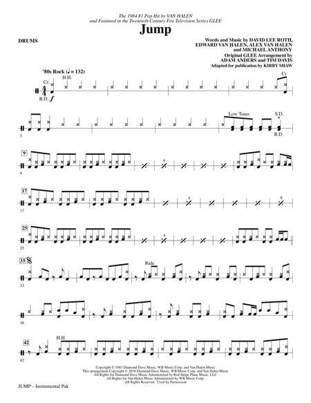 Van Halen And Glee Cast Partitions Musicales Imprimer Mondial