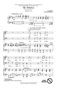 My America (Choral Medley) sheet music
