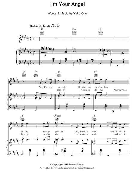 Download Digital Sheet Music of Yazoo for Piano, Vocal and Guitar
