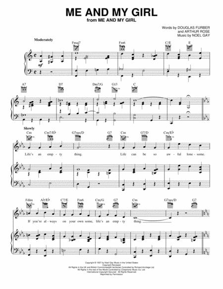 Noel Gay And Me And My Girl Musical Sheet Music To Download And