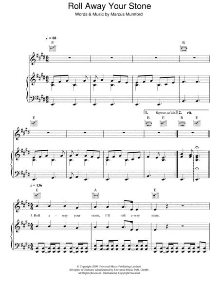 Download Digital Sheet Music Of Regi Stone For Piano Vocal And Guitar