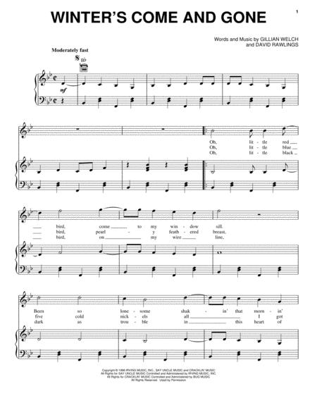 Gillian Welch Gillian Welch sheet music to download and print ...