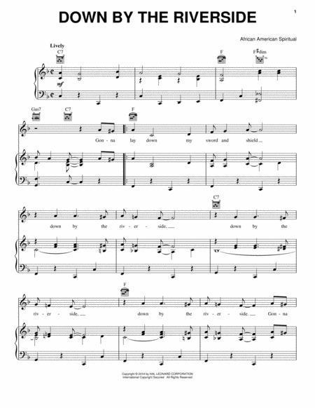Download Digital Sheet Music of Spiritual and African-American ...