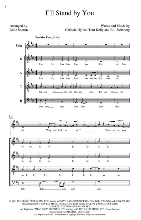 The Pretenders sheet music to download and print - World center of ...