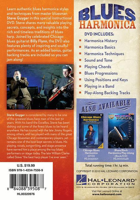 Sheet music: Blues Harmonica - DVD (Harmonica)