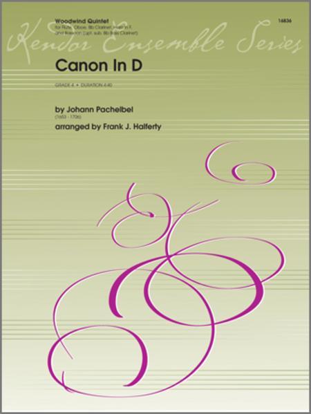 canon in d flute clarinet pdf