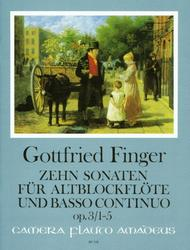 Godfrey Finger  Sheet Music 10 Sonatas op. 3 Song Lyrics Guitar Tabs Piano Music Notes Songbook