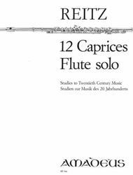Heiner Reitz  Sheet Music 12 Caprices op. 4 Song Lyrics Guitar Tabs Piano Music Notes Songbook