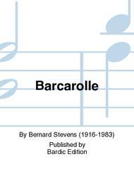 Barcarolle sheet music