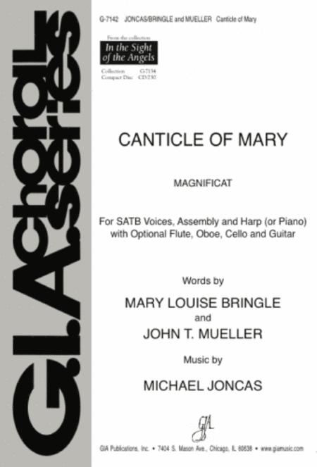 Sheet music: Canticle of Mary