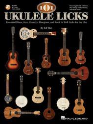 Lil' Rev  Sheet Music 101 Ukulele Licks Song Lyrics Guitar Tabs Piano Music Notes Songbook