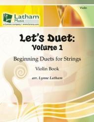 Let's Duet: Volume 1 (Violin) sheet music
