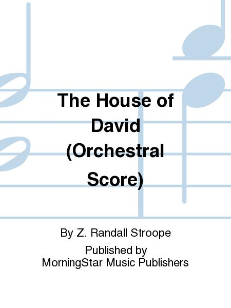 Sheet music the house of david orchestral score orchestra for Orchestral house music