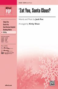 'Zat You, Santa Claus? sheet music