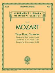 Mozart - 3 Piano Concertos