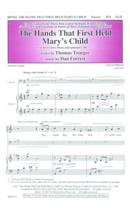 The Hands That First Held Mary's Child (SSA)