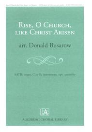 Rise, O Church, Like Christ Arisen sheet music