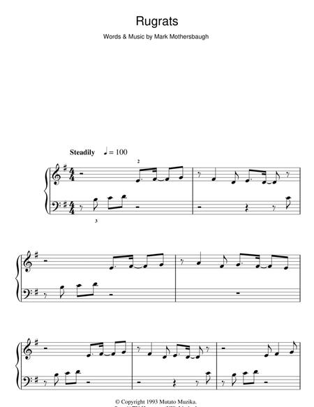 For Easy Piano Children Film Tv 2 Pages Published By Hal Leonard Digital Sheet Music