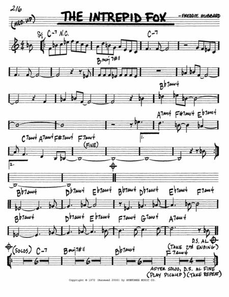 Freddie Hubbard sheet music to download and print - World center of