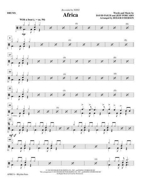 Jeff Porcaro Sheet Music To Download And Print World Center Of