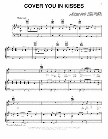 i swear sheet music pdf